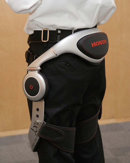 Honda Walking Assist Device for The Elderly and Other People with Weakened Leg Muscles