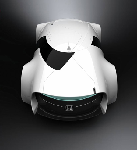 Futuristic Honda Zeppelin Luxury Sports Sedan Concept Was Inspired by An Airship
