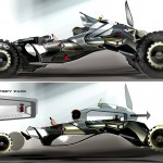 Honda Synergy Concept Race Car by Darby Jean Barber
