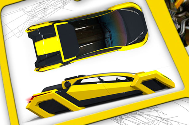 Honeycomb Concept Car by Miguel Mojica