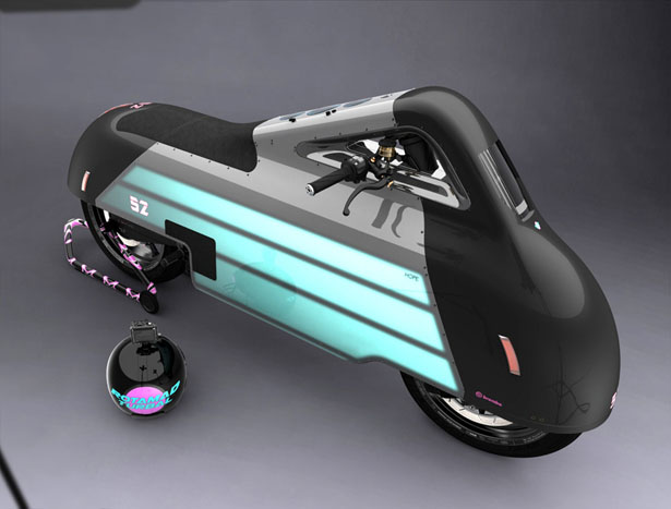 HOPE electric motorbike by Samuel Aguiar