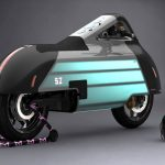 HOPE : Futuristic Electric Motorbike That You Want to Hug