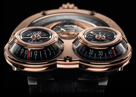 Horological Machine No. 3 Radical Watch Design by Maximillian Busser and Friends