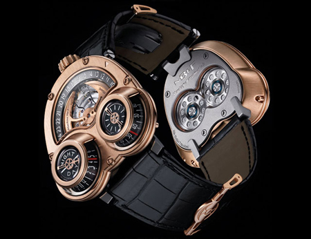 horological machine no 3 futuristic watch