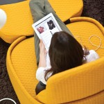Hosu Single Seat Lounge Chair Creates Personal, Relaxing Work Environment