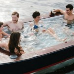 Cruising on Lake Union While Lounging in Hot Tub Boat