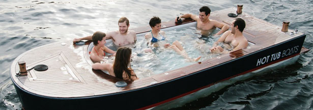 Hot Tub Boats