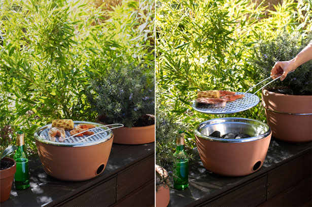 Hotpot BBQ : BBQ and Herb Garden in One