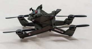 Hoverbike S3 – Compact Futuristic Hovercraft Can Take-off and Land From An Ordinary Parking Space