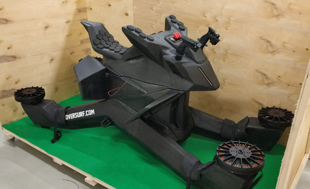 Futuristic Hoverbike by Hoversurf