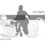 HT4 Concept Toilet for Handicapped Individuals