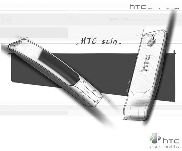 HTC Slim Phone: Concept Smart Phone Design By Sylvain Gerber