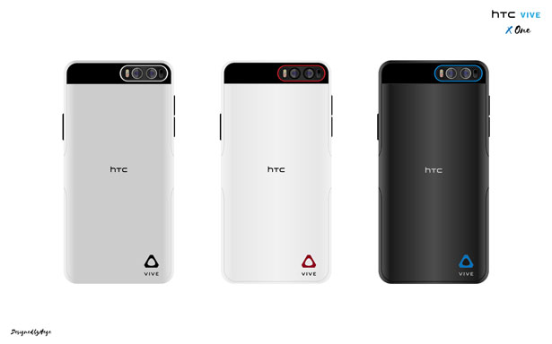 HTC VIVE X-One Smartphone by Mladen Milic