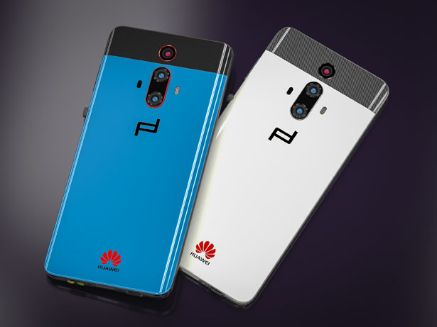 Huawei Mate RS Turbo - Porsche Design Smartphone Concept Study by Petar Trlajic