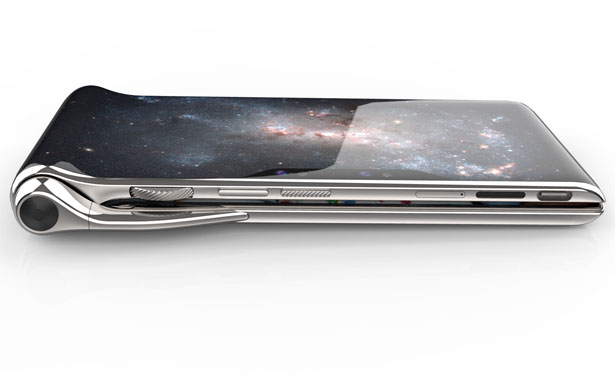 Futuristic HubblePhone Multi-Screen Smartphone
