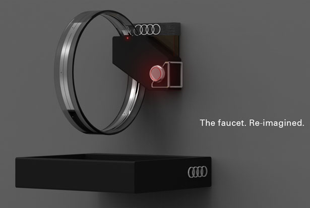Hudōr Faucet Futuristic Faucet Is Inspired By Audi