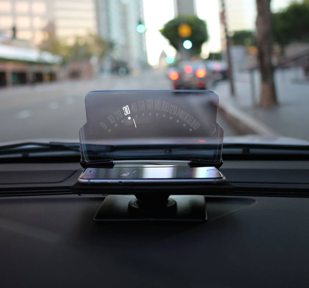 Hudway Glass Head-Up Display for Cars