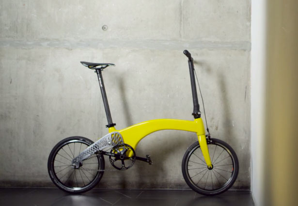 Hummingbird Folding Bike by Petre Craciun