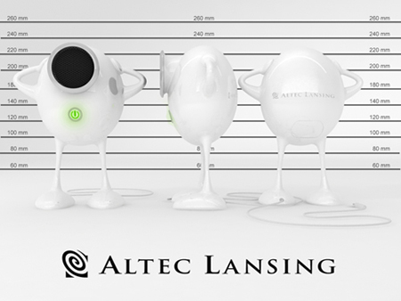 Humpty Dumpty Speaker Design for Altec Lansing