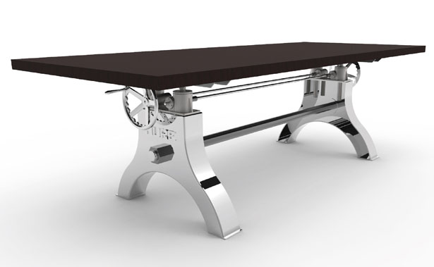 hure crank table is adjustable from 30