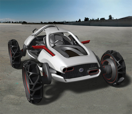 hurricane concept car