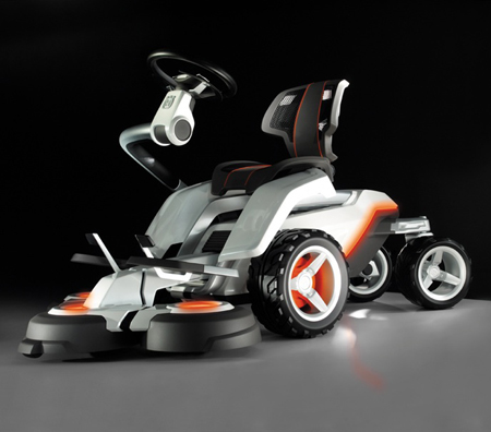 Panthera Leo Concept Electric Mower from Husqvarna Tuvie