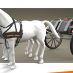 Modern and Stylish Hx2 Horse-Drawn Hitch Wagon by Guillaume Diolez