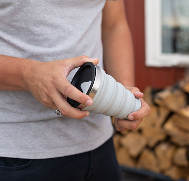 Hydaway Collapsible, Insulated Drink Tumbler for Active Consumers