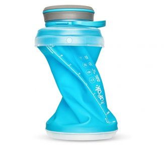 Hydrapak Stash: Flexible Water Bottle Collapses Down to ¼ of It's Filled Size When Empty