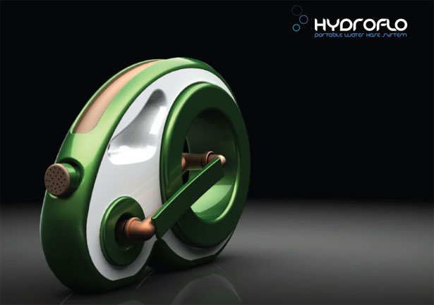 Hydroflo Portable Water Hose System