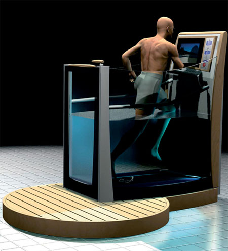 hydrotherapy concept