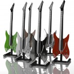 Electric Hyper Touch Guitar Replaces The Strings with Multi-Touch Screen