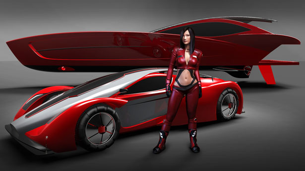 Hypercar Of The Future Concept Was Inspired By Nardolillo