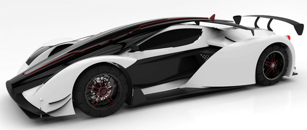 Hypercar Of The Future by Abdul Wahid