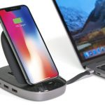 HyperDrive USB-C Hub Is Combined with 7.5W Qi Wireless Charger iPhone Stand for Ultimate Phone Stand