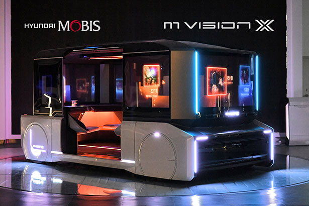 Hyundai Mobis Has Released The Future of Shared Mobility Concepts: M.Vision X
