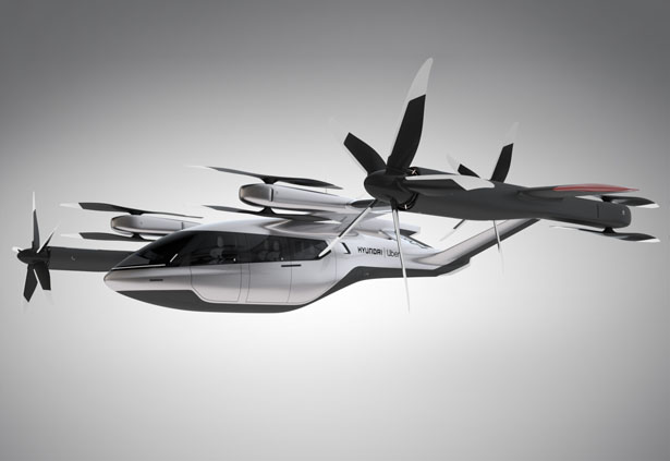 Uber and Hyundai Have Teamed Up to Create a Flying Taxi, The Future of Aerial Ridesharing