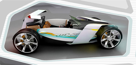 iBite Sports Car Concept with Ocean as The Inspiration