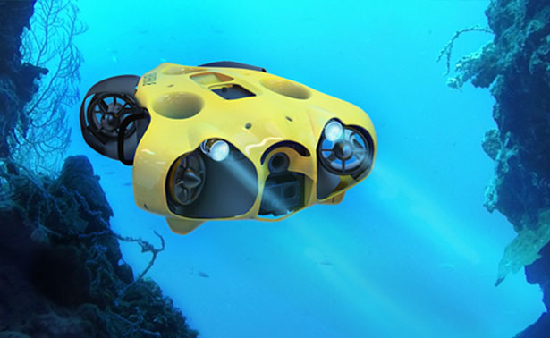 iBubble Submarine Drone by Think Think Design