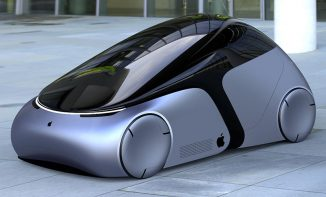 iCar – Apple Inspired City Car by Ashish Gogte