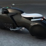 Icare : Futuristic Motorcycle from Enzyme Design