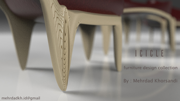Icicle Furniture Set by Mehrdad Khorsandi