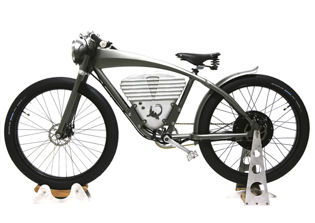 ICON E-Flyer Electric Bike Combines The Elegance of A Classic Bike with Modern Day EV Technology