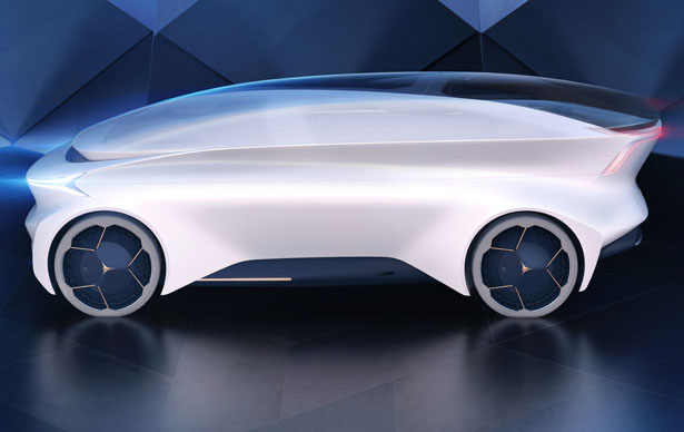 Icona Nucleus Concept Vehicle