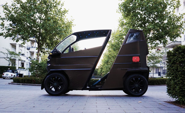 iEV X: Expandable Smart Electric Vehicle to Accommodate Your Needs