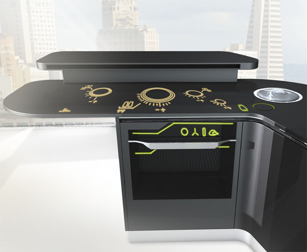 iFood : A Remote Controlled Kitchen Combined With Several Electrical ...