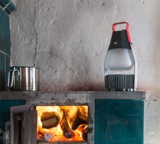 IGNIS Thermal Electric Light Transforms Heat to Electricity for Remote Areas