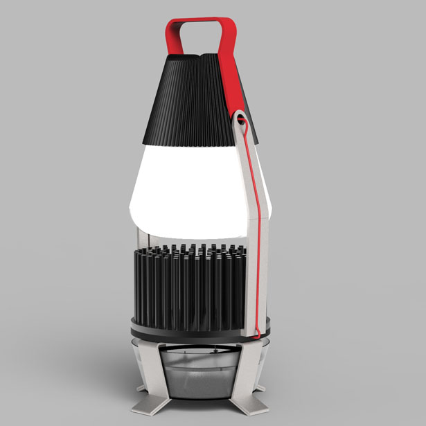 IGNIS Thermal Electric Light by Tobias Trubenbacher