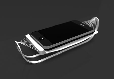 iHammock : Let Your iPhone Relax While Getting Charged in Stylish Manner
