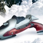 I-K Snow Mobile Concept by Grupotoro Studio